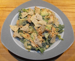 Chicken Lime Salad with Avocado.