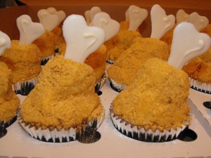 Fried Chicken Legs.. or Cupcakes?! ;)