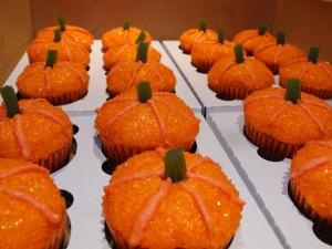 Sparkly mini pumpkins. :)