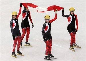 Canada wins Silver in Sochi!