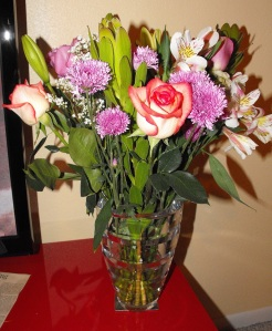 My Anniversary Flowers from my husband! :)