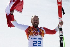 Canada's Jan Hudec overcomes injury to win bronze in men's super-G. :)