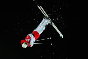 Canadian Mikael Kingsbury wins Silver. :)