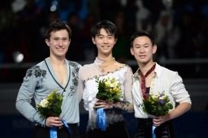 Patrick Chan wins Silver! :)