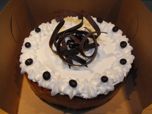 Chocolate Espresso Swirl Cheesecake. Yummy!