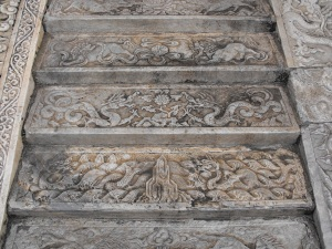 Beijing - Forbidden City. So many amazing carved stone decors. In this case, steps! :)