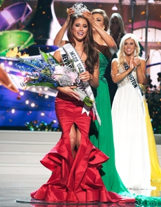 The new Miss USA!