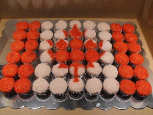 Canada Day Cupcakes!