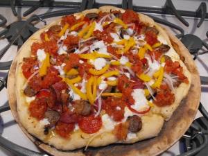 The Trattorian Pizza! Yum!