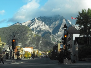 The town of Banff.