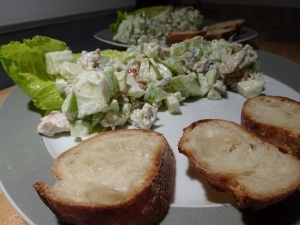A twist on the Waldorf Chicken Salad!